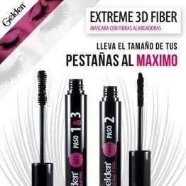 Mascara extreme 3d fiber Gelden