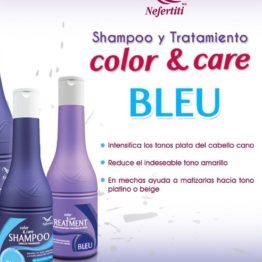 Shampoo y tratamiento Bleu Nefertiti 340ml