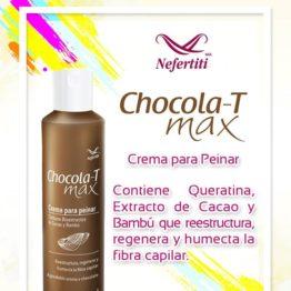 Crema para peinar chocolat-max Nefertiti