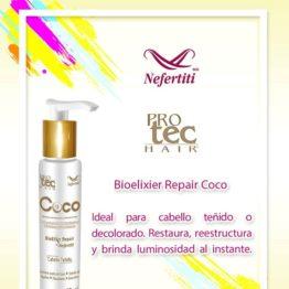 Bioelixir de coco para cabello teñido Nefertiti